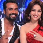 Madhuri and Remo giving an elegant Selfie