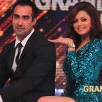 Drashti and Ranvir grooving on stage
