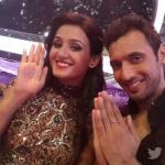 Shakti with her choreographer Puneet
