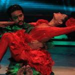 Ashish dances sensuously with his partner Shampa