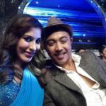 Sophie with her partner Deepak Selfie