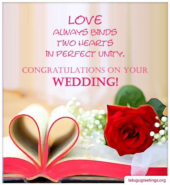 Wedding Greetings Page 1 - greeting