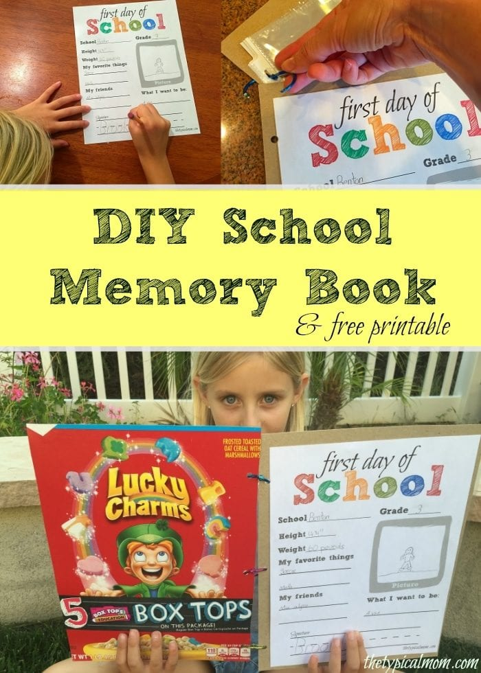 Memory Book Ideas · The Typical Mom