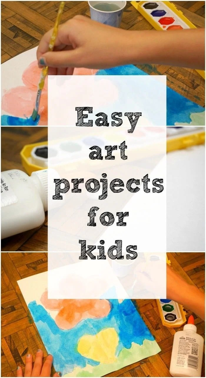 Art Craft Ideas Art And Craft Ideas For Kids The Typical Mom