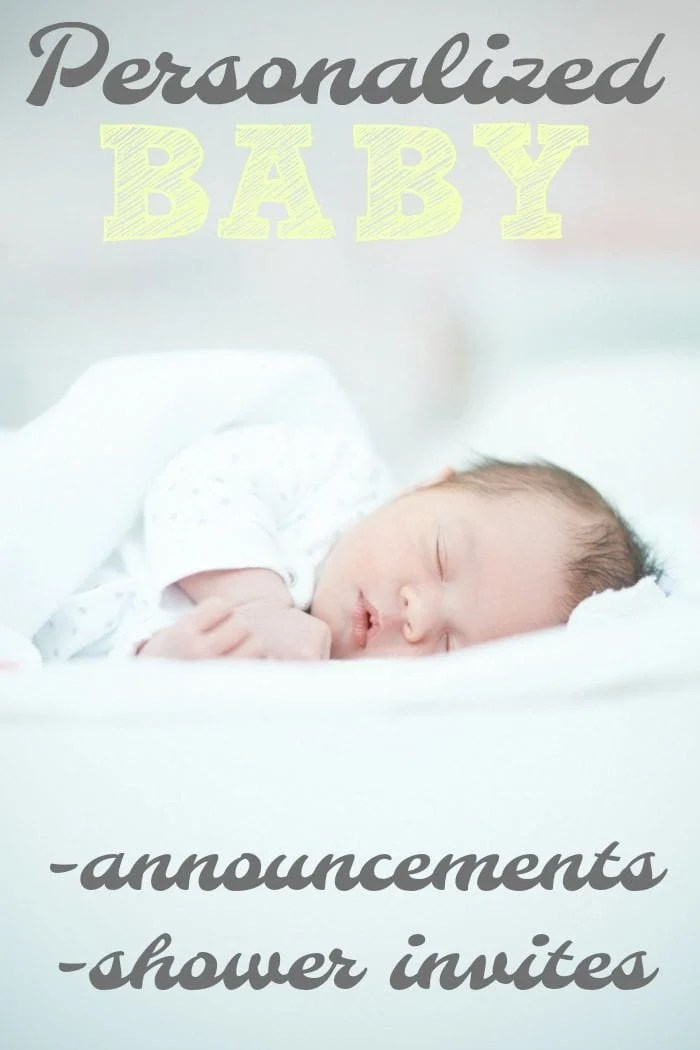 Creating the Perfect New Baby Announcement · The Typical Mom