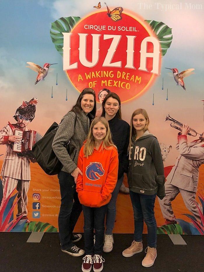 Cirque Du Soleil Luzia Review · The Typical Mom
