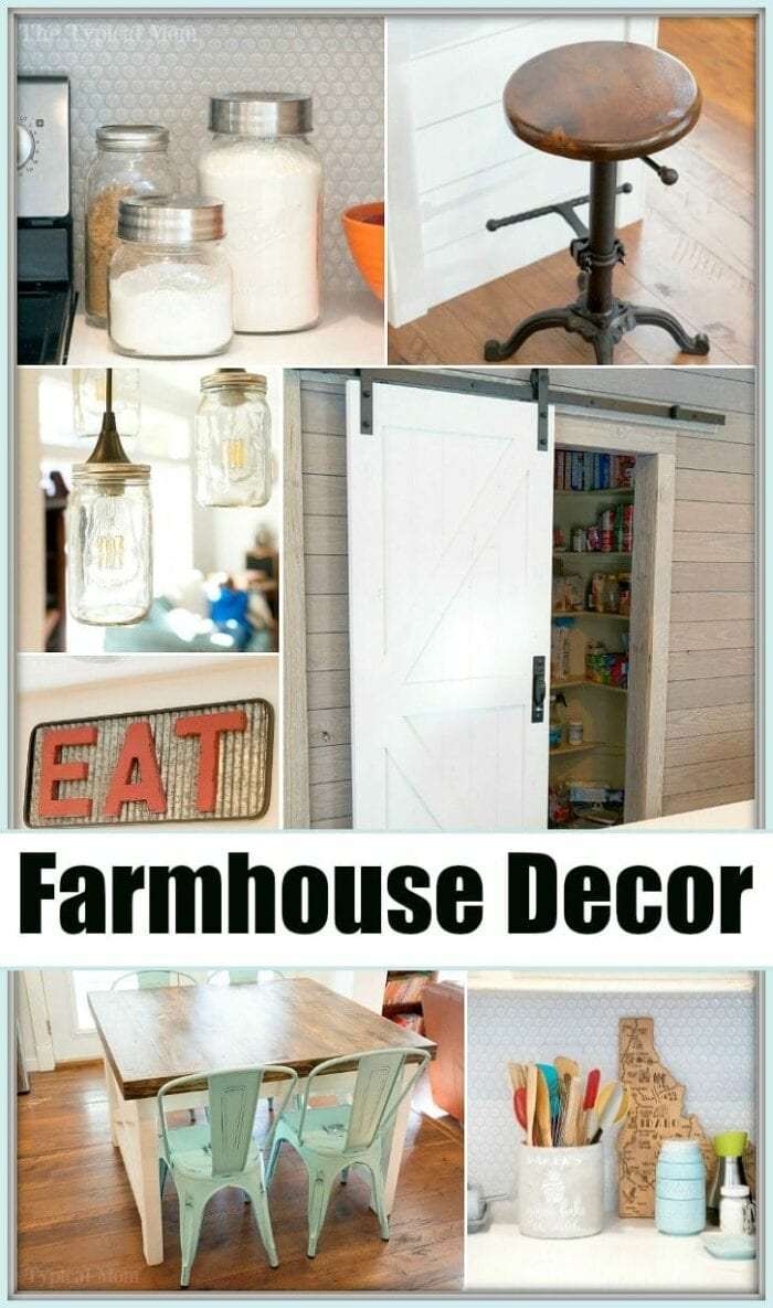 Kitchen Decor Farmhouse Kitchen Decor The Typical Mom