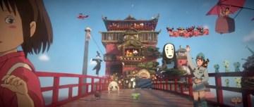 ひろぶろ   【動画】 スタジオジブリ、宮崎駿に対する3Dトリビュートが美しい!!