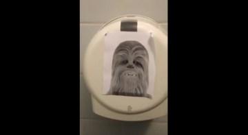Chewbacca Toilet paper   YouTube