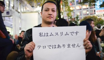 Kanako Baba   アナスさん(仮名)、会社員 「私はムスリムです。私はテロではありません。」...