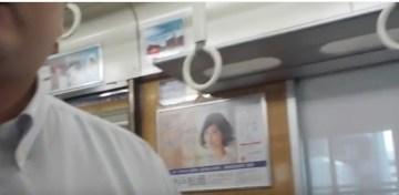 阪急の比良岡 誠司{ひらおか せいじ}が男性客に喧嘩を売りました。   YouTube