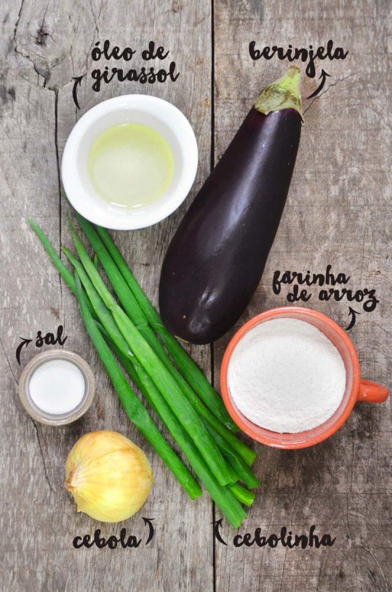 ingredientes da almôndega