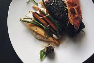 "The Primal Gourmet: ""BBQ"" Blackened Salmon with Crispy Prosciutto"