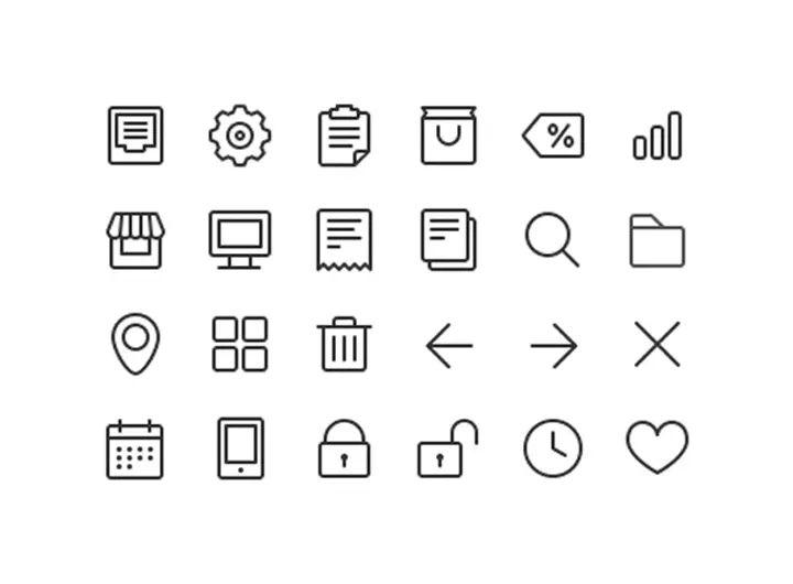 symbole modernes cv