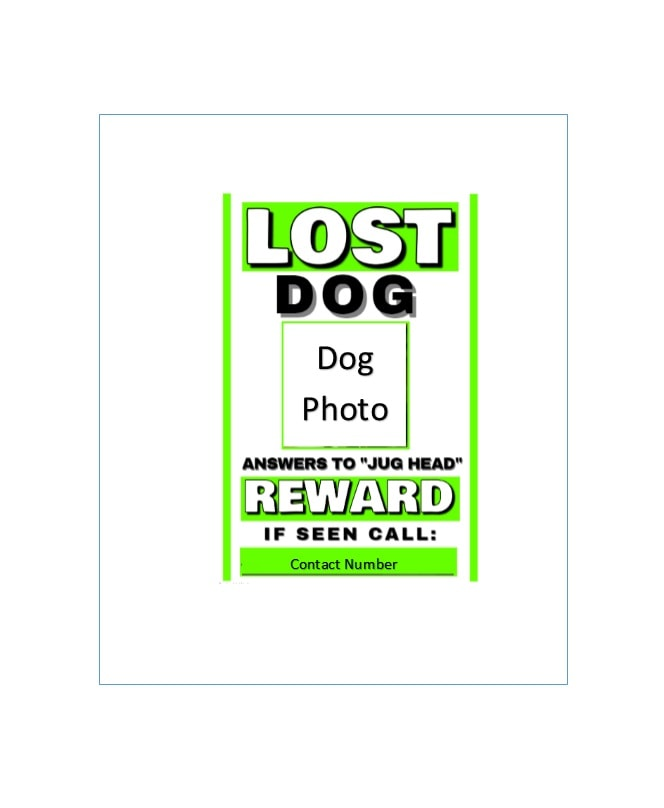 Magnificent Reward Poster Template Word Images - Best Resume - missing reward poster template