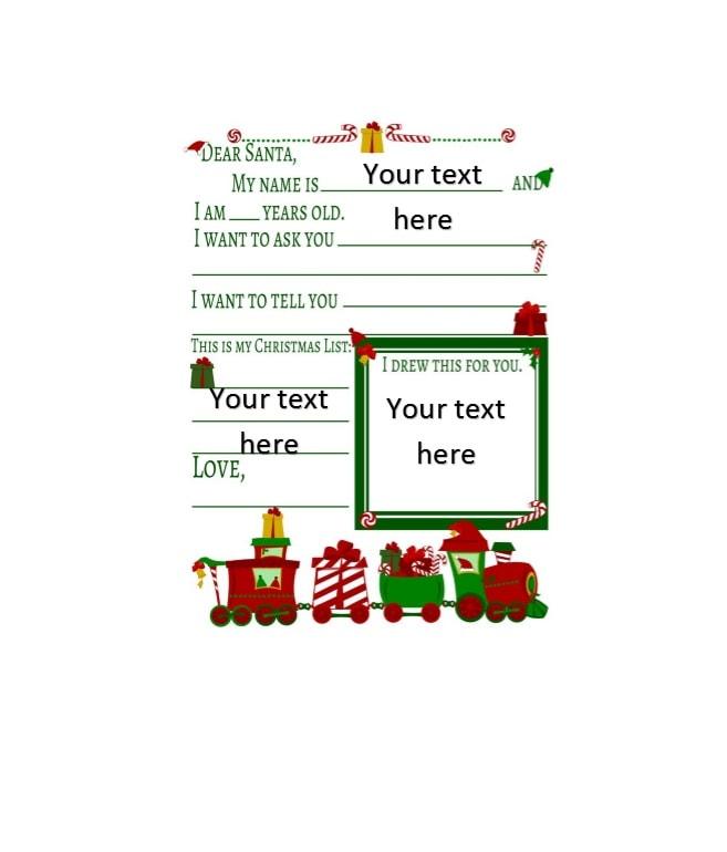 christmas list template. christmas present list template 27 ...