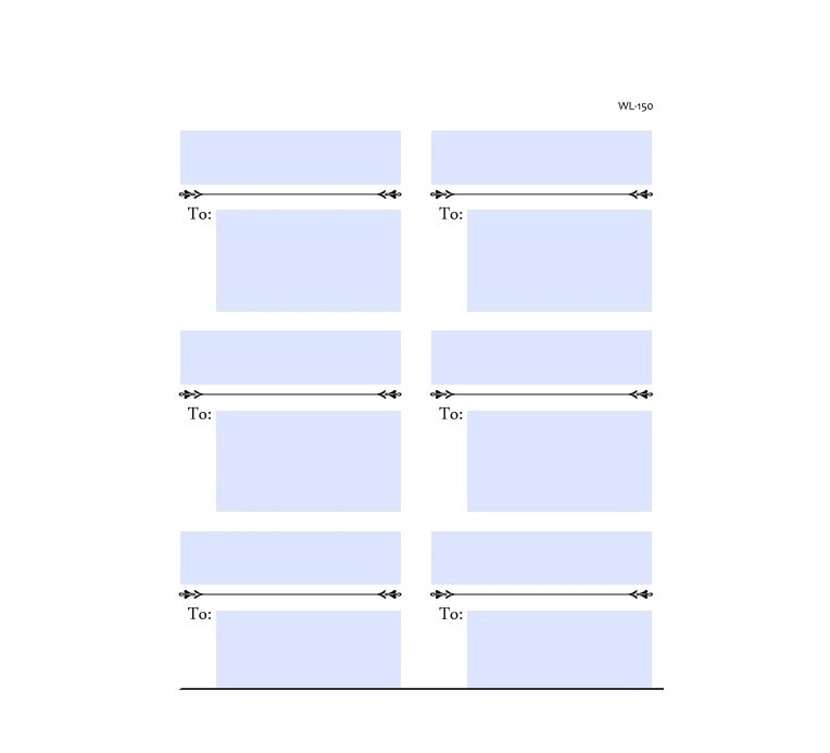 36 Fantastic Label Templates Address, Shipping, Mailing