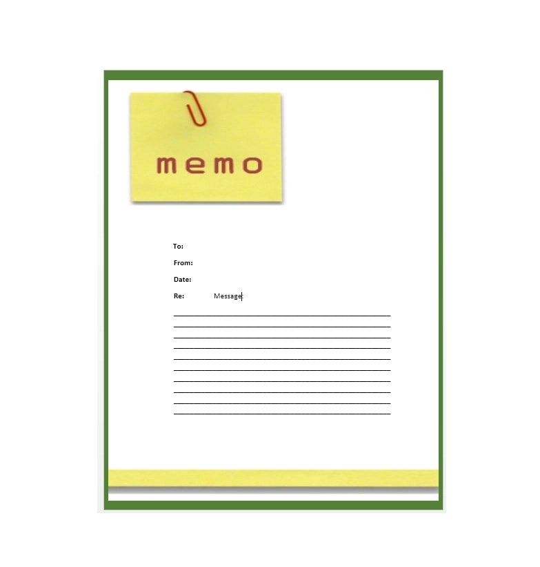 Business Memo Templates - 40 Memo Format Samples in Word