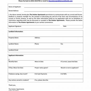 Attractive Renter Verification Form Mold - Best Resume Examples by - rental verification form