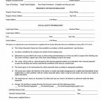 29 Rental Verification Forms (for Landlord or Tenant) - Template - verification form