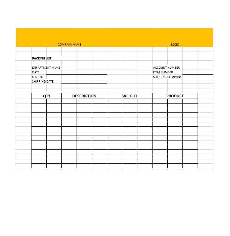 30+ Free Packing Slip Templates (Word, Excel) - Template Archive - packing slips for shipping