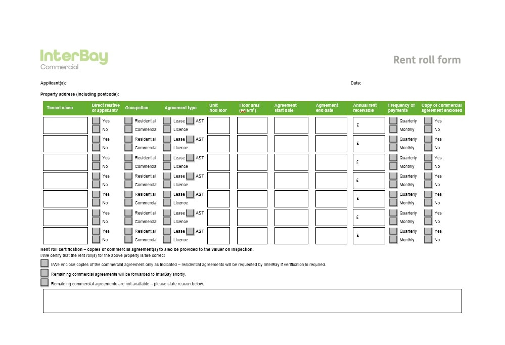 47 Rent Roll Templates  Forms - Template Archive