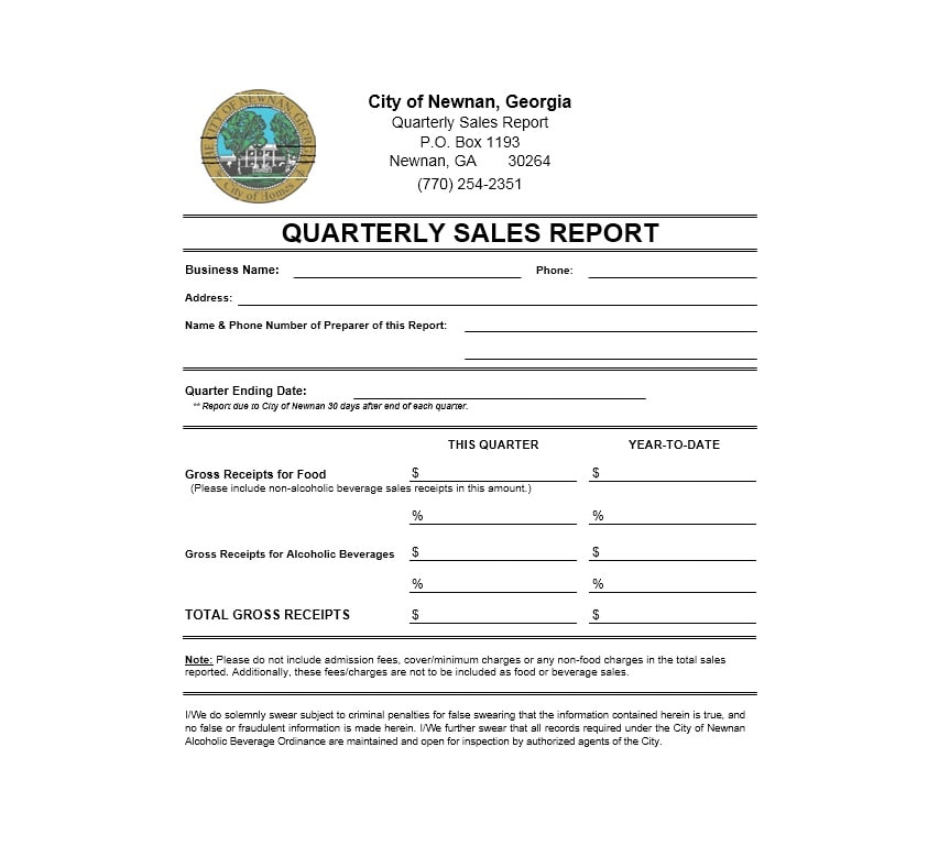 45 Sales Report Templates Daily, Weekly, Monthly Salesman Reports - criminal report template