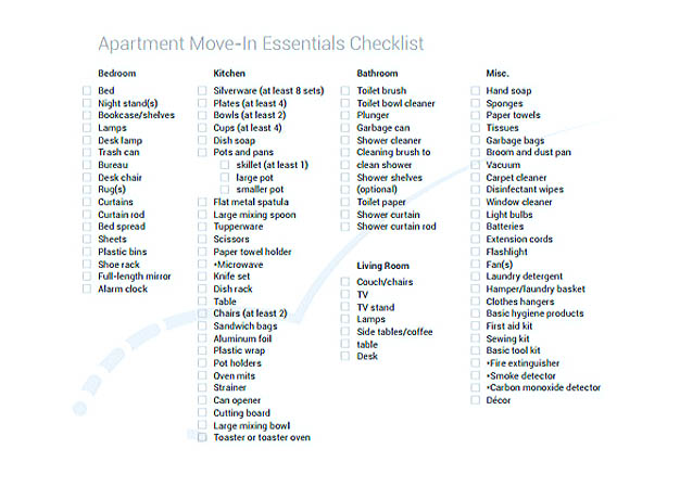 ... Checklist Template Easy And Helpful Tools For You   Moving Inventory  List Template ...