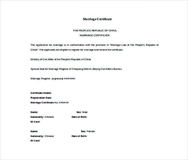 free wedding certificate template - Oylekalakaari - marriage certificate template