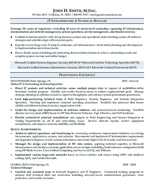 Strategy To Drive Victoria\u0027s Health And Medical Research Premier - microsoft certified trainer sample resume