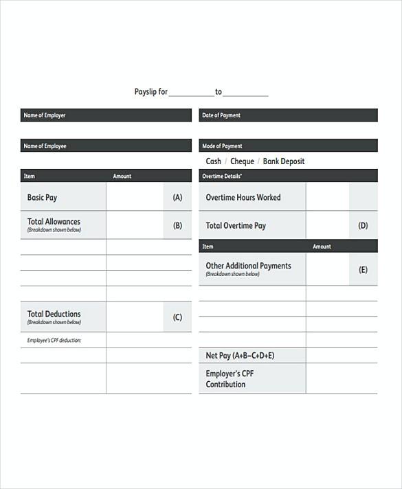 payroll invoice template - Militarybralicious - payroll templates