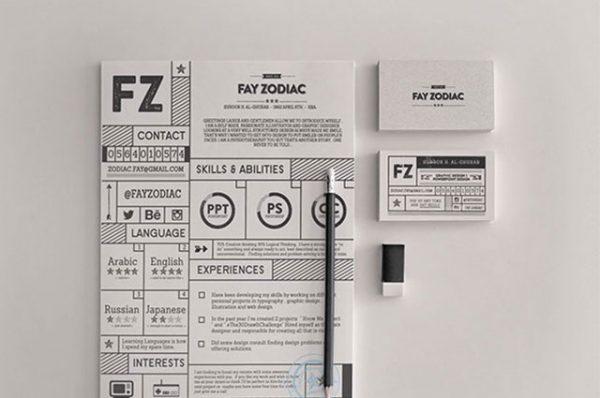 28 Minimal \ Creative Resume Templates - PSD, Word \ AI (Free - amazing resume templates