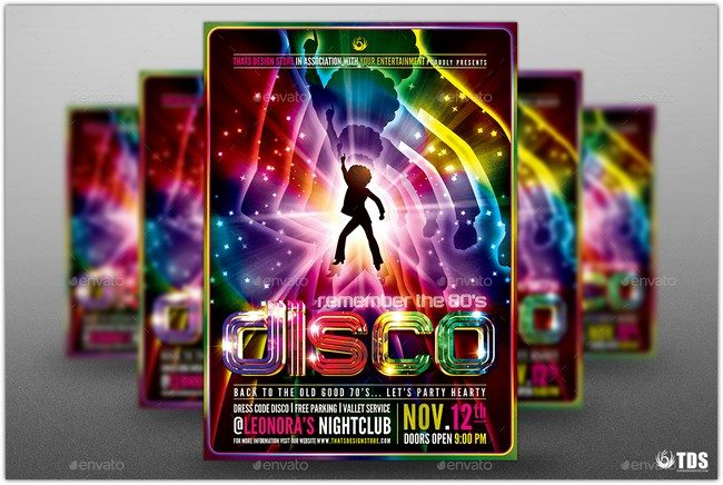 25+ Best Disco Flyer Templates - Free PSD, AI, EPS, PDF, Word