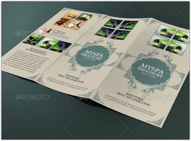 24+ Stunning Spa Brochure Templates Designs 2018 - Templatefor