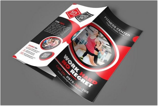 27+ Best Fitness Brochure Templates  Designs 2018 - Templatefor