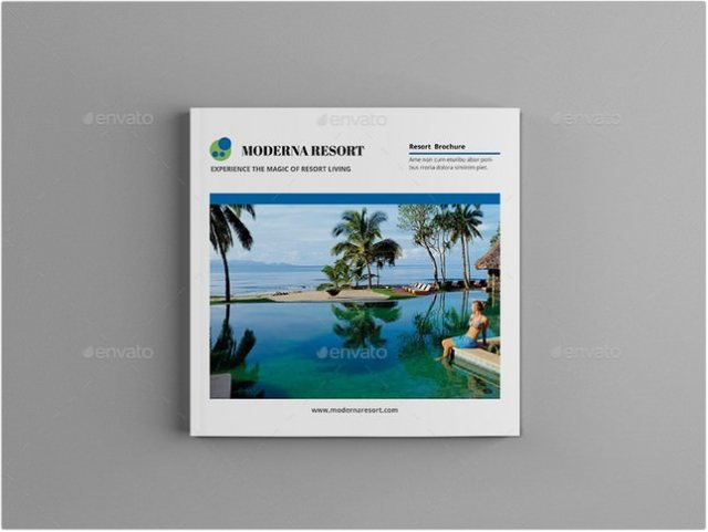 20+ Best Resort Brochure Templates  Designs 2018 - Templatefor