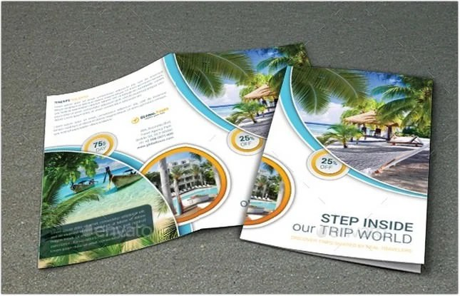 25+ Best Travel Agency Brochure Templates  Designs - PSD, AI Format