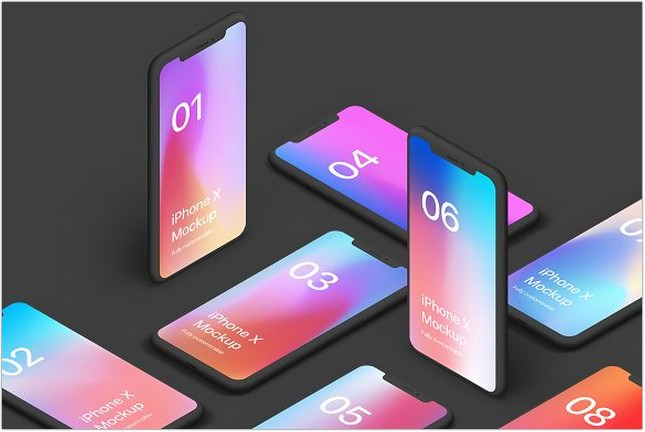 30+ Best iPhone XS, XS Max, XR Mockup (PSD, AI  Sketch) - Templatefor