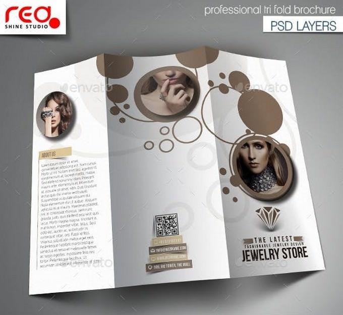 20+ Best Jewelry Brochure Templates 2019 - Templatefor