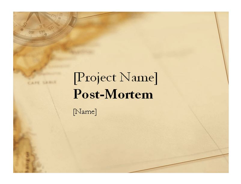 Post Mortem Template Template Haven Free Microsoft - mandegarinfo
