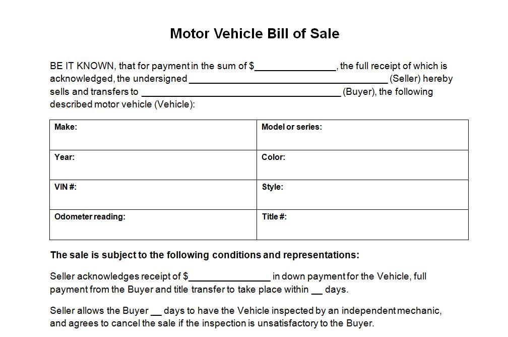 texas dmv bill of sale - Towerssconstruction