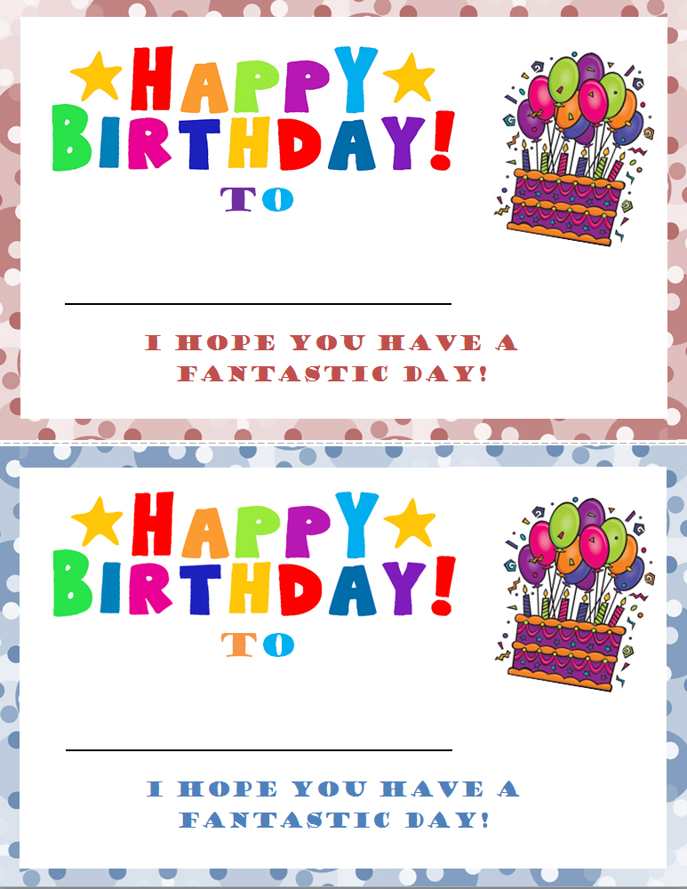 Student Birthday Certificate Template » Template Haven
