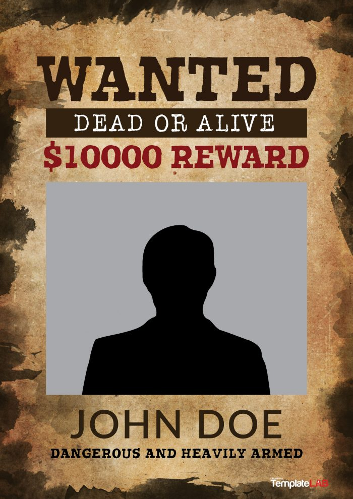 Help Wanted Template Word Templatebillybullock – Free Wanted Poster Template