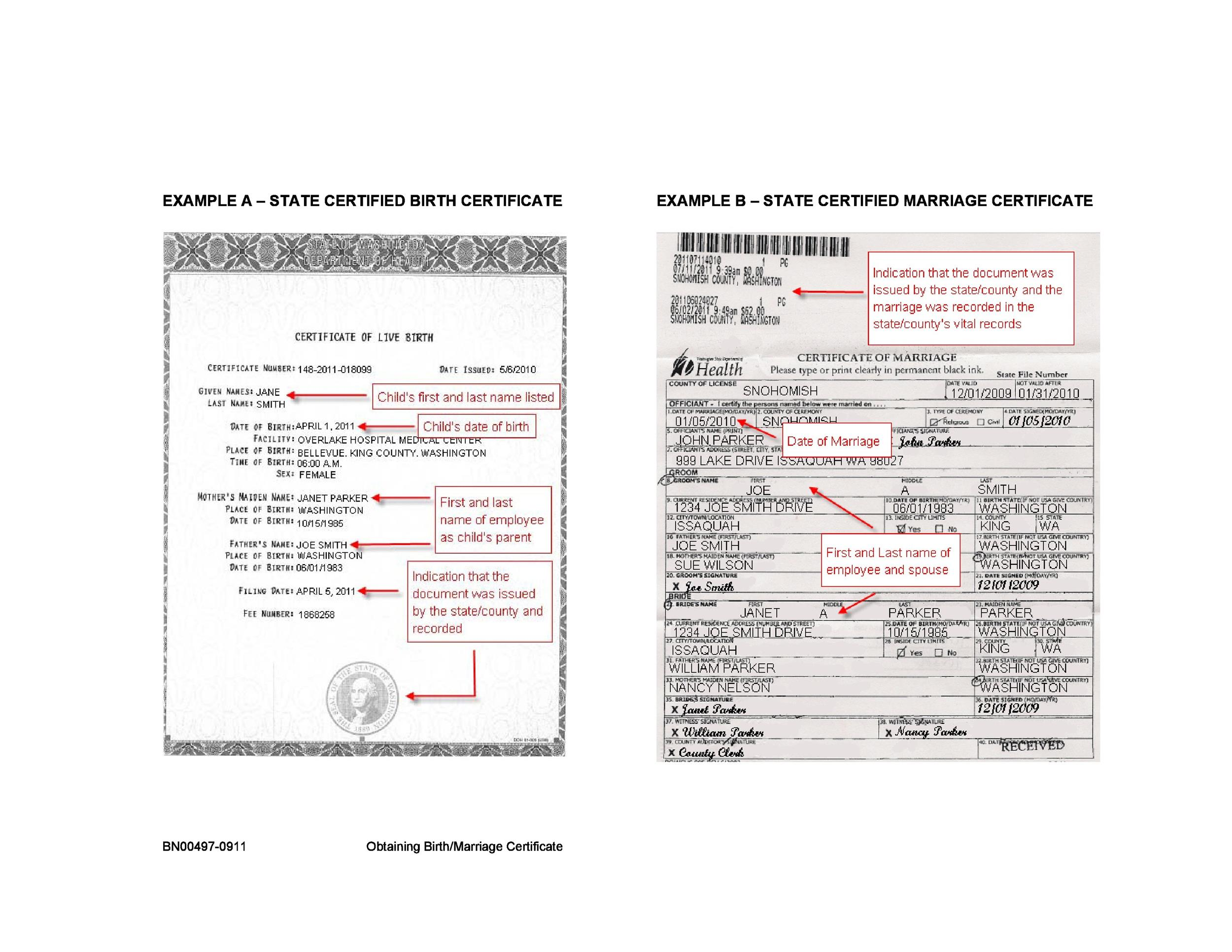 15 Birth Certificate Templates (Word  PDF) - Template Lab - Certificate Of Birth Template
