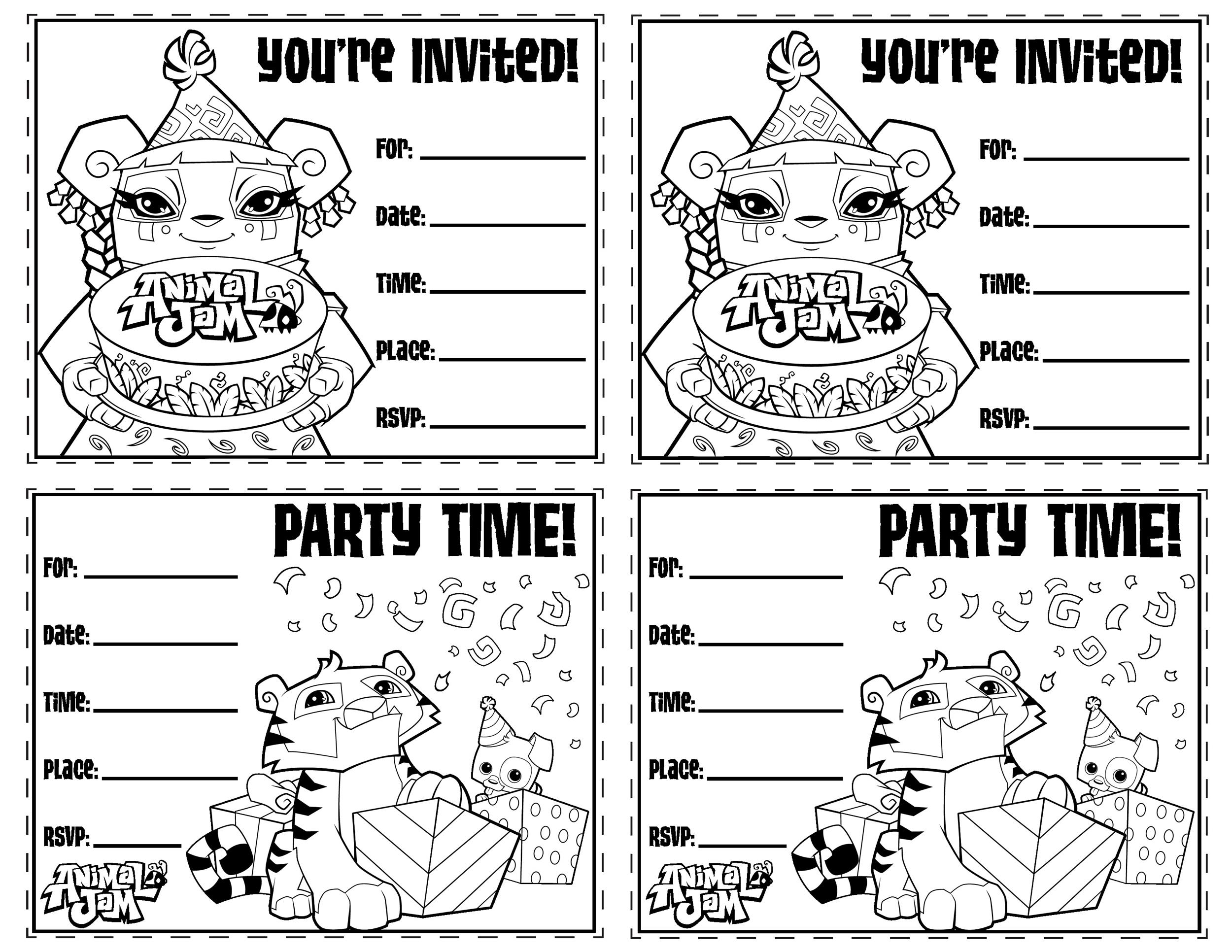 40+ Free Birthday Party Invitation Templates - Template Lab - birthday party card template