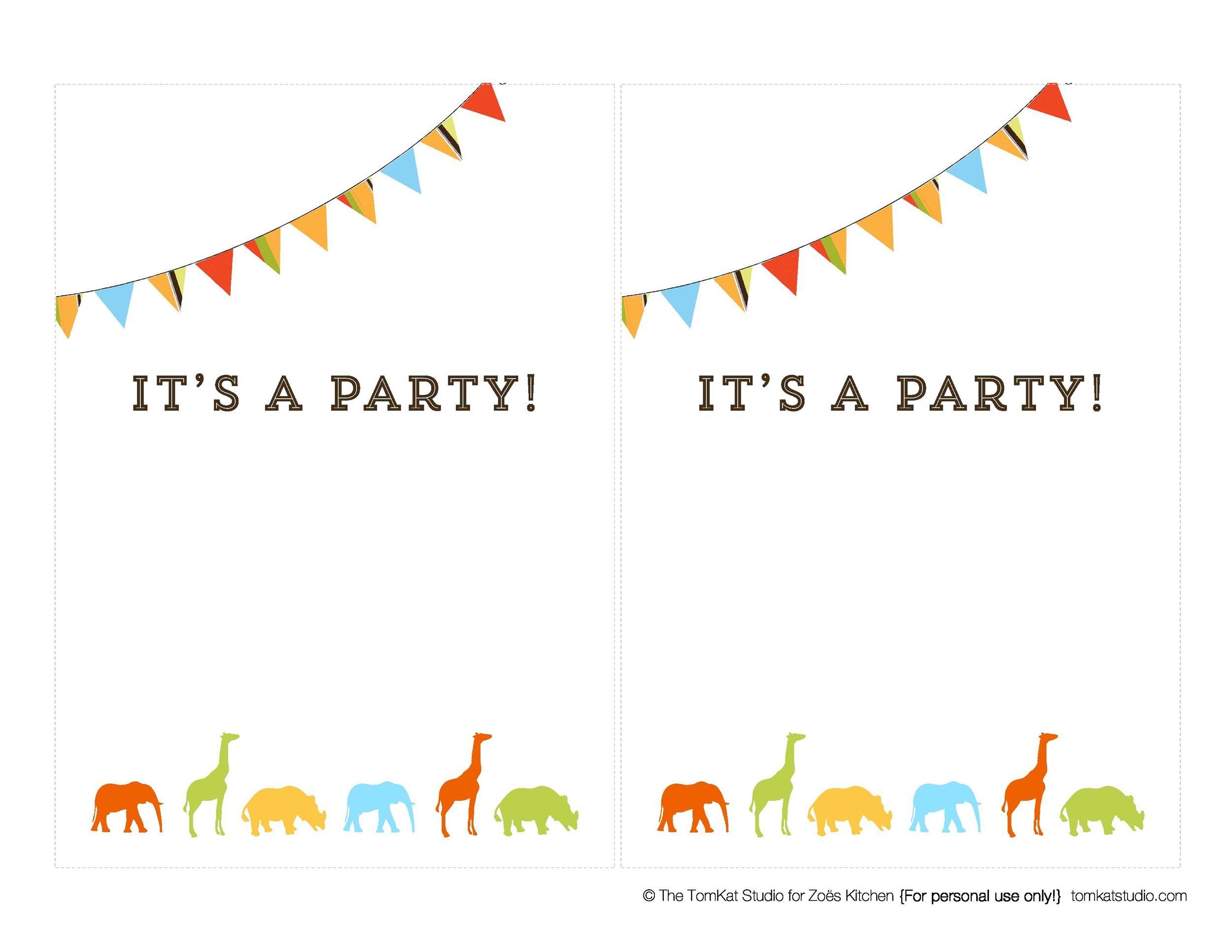 40+ Free Birthday Party Invitation Templates ᐅ Template Lab
