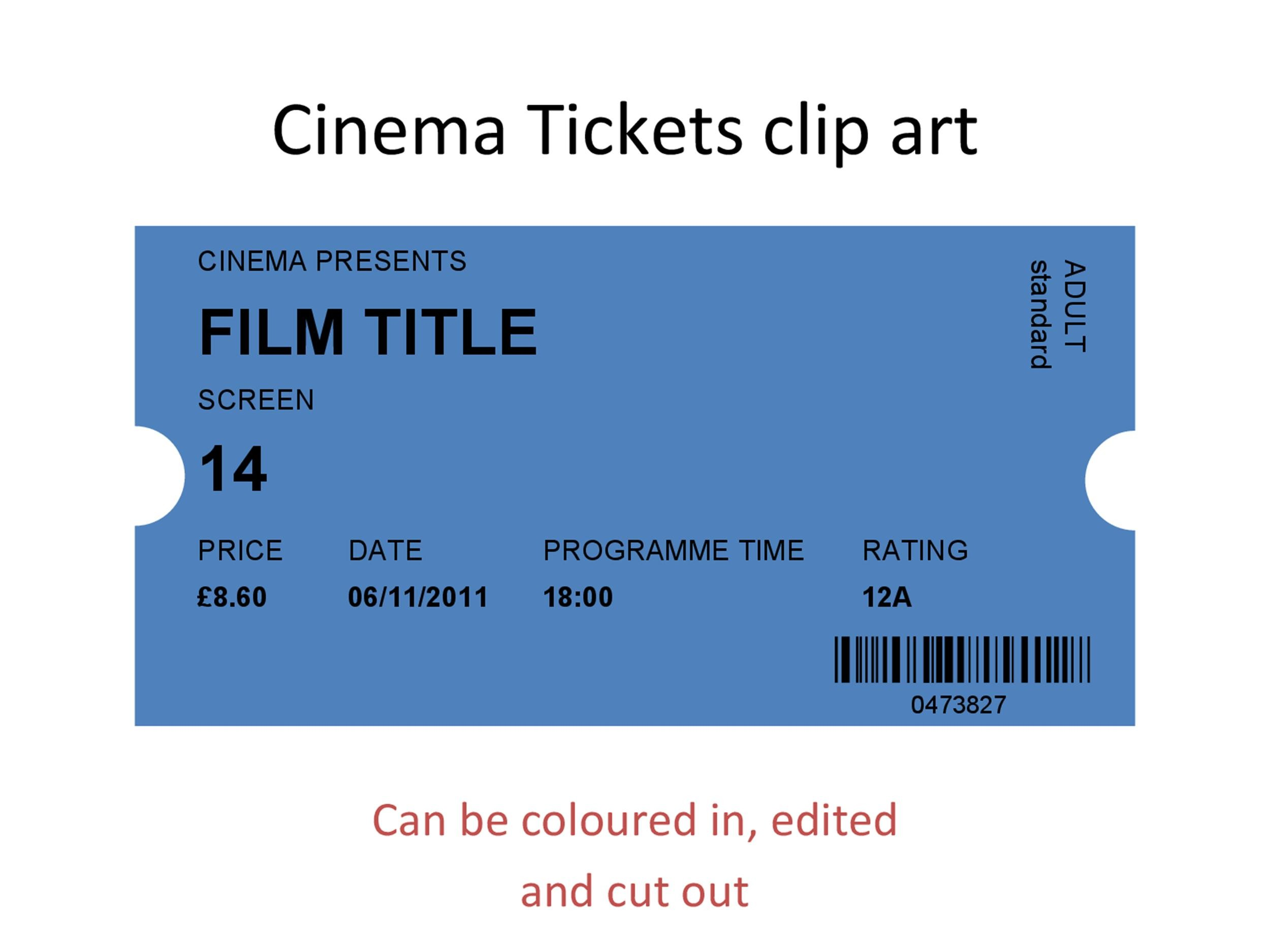 template for movie ticket - Ozilalmanoof - movie ticket templates for word