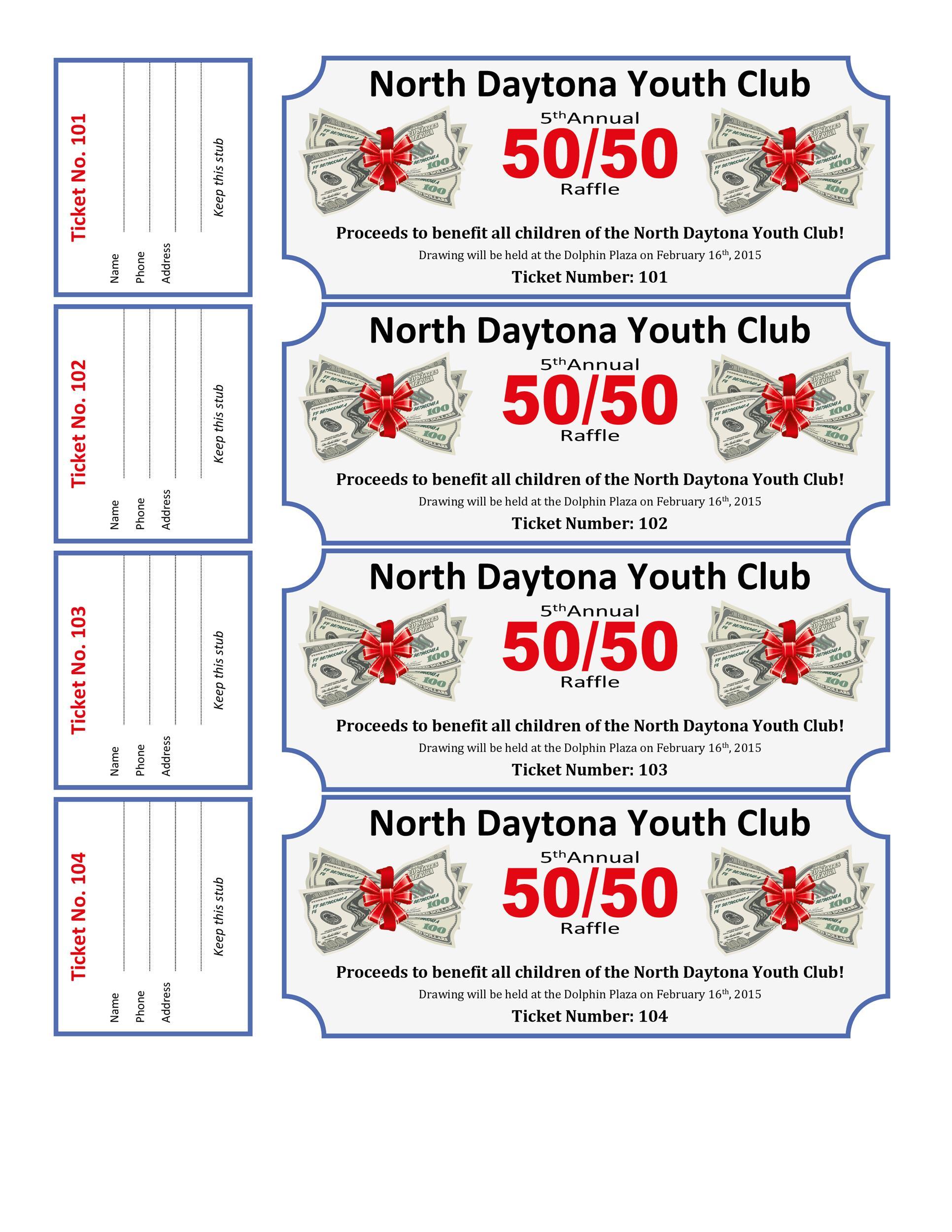 40+ Free Editable Raffle  Movie Ticket Templates - printable ticket paper