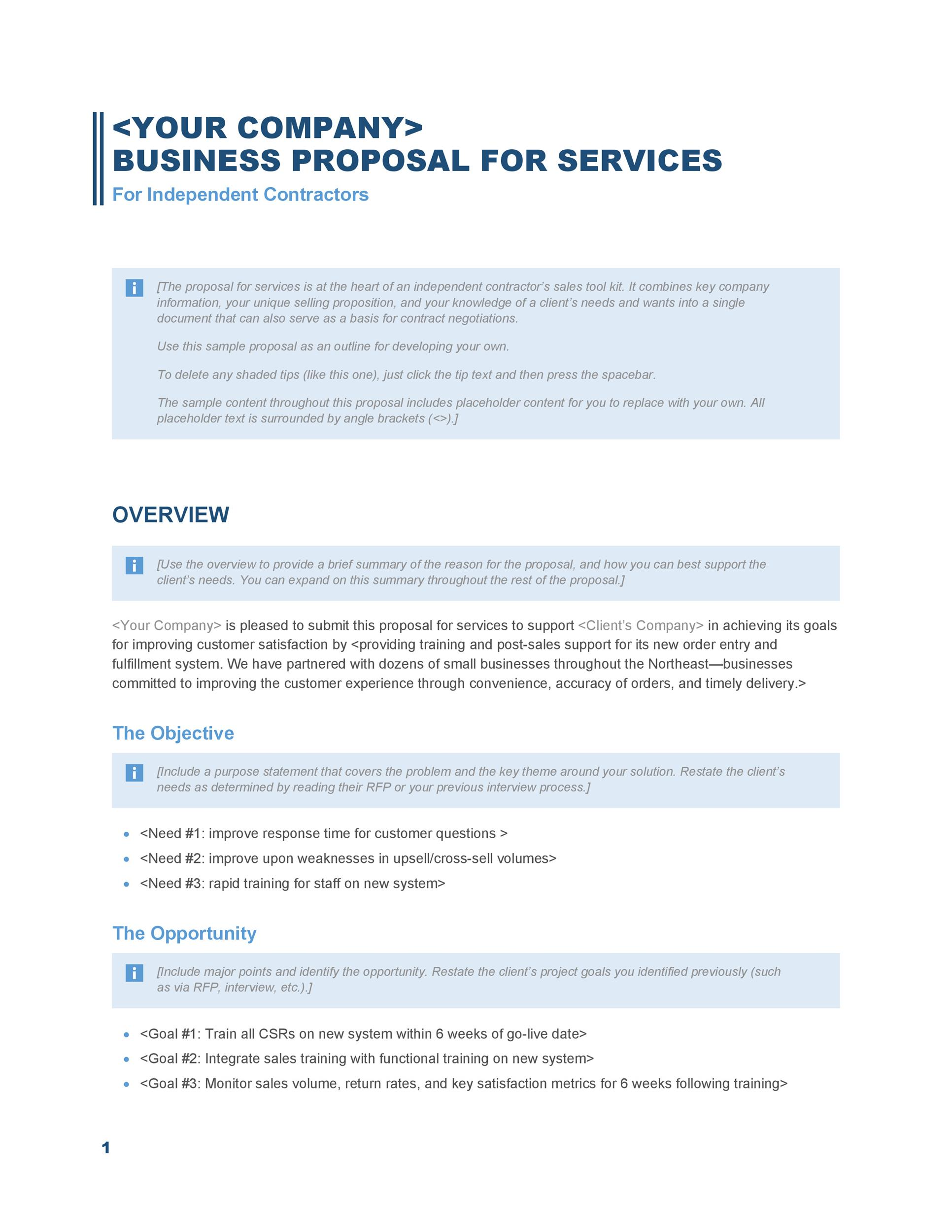 30+ Business Proposal Templates \ Proposal Letter Samples - client proposal sample