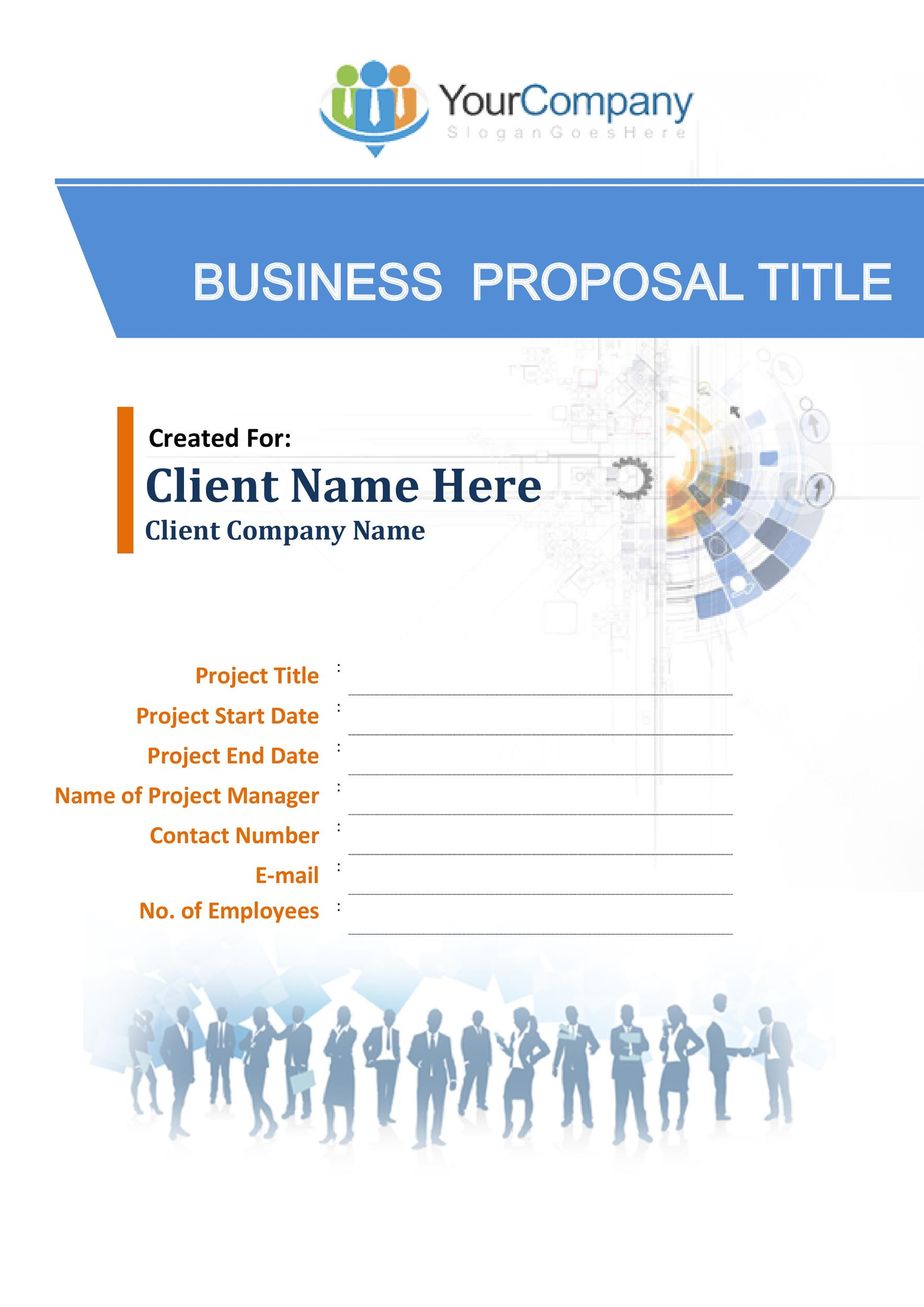 30+ Business Proposal Templates  Proposal Letter Samples